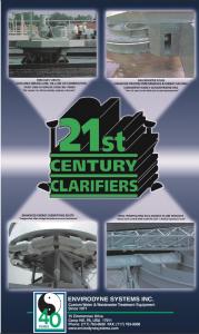 Brochure image of Envirodyne 21st Centruy Clarifiers