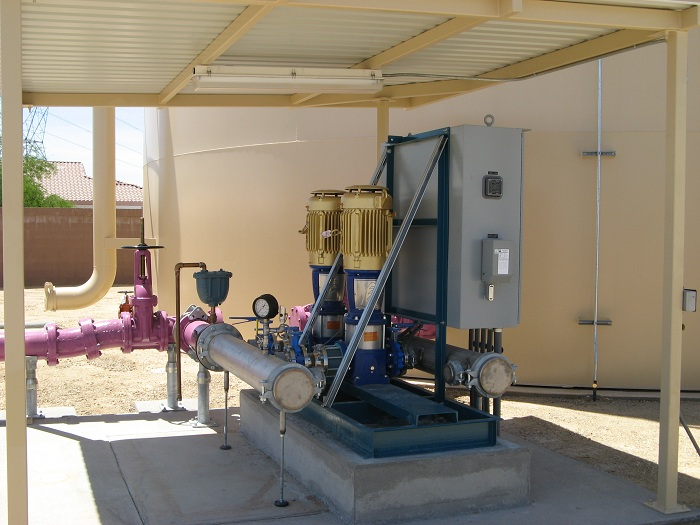 Flowtronex Packaged Water Booster Pumping Systems - Hennesy Mechanical Sales LLC