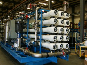 Image of ITT RO System Equipment